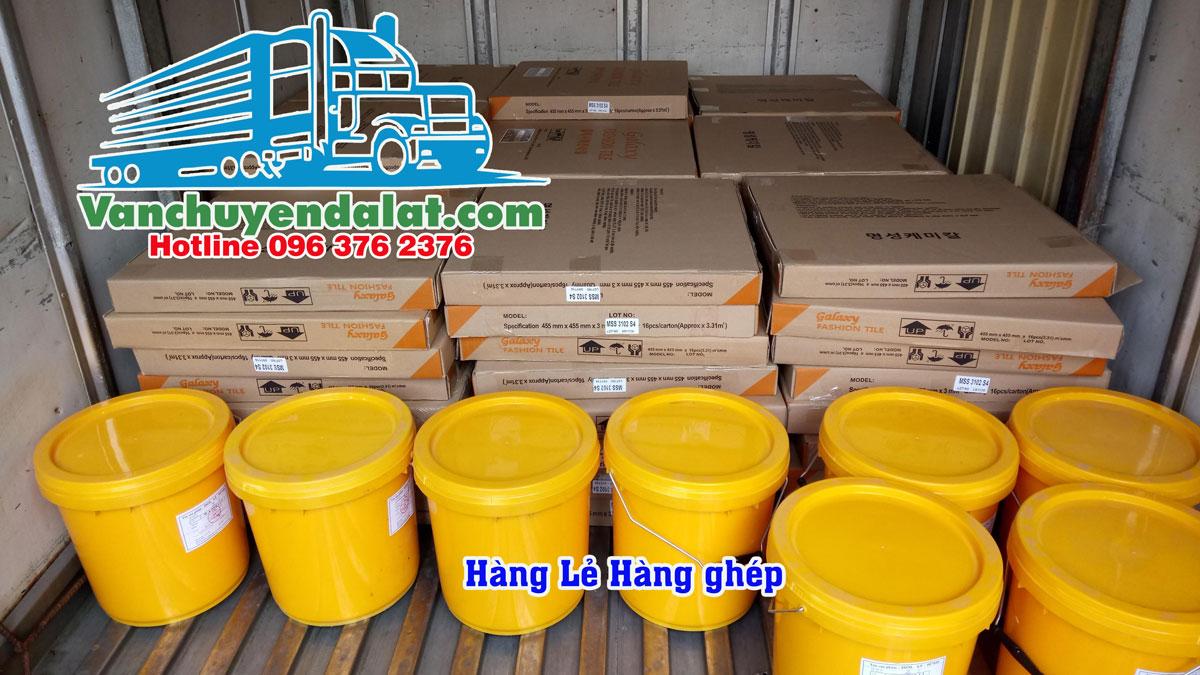 Vận chuyển hàng ghép từ Hà Nội đi Đà Lạt