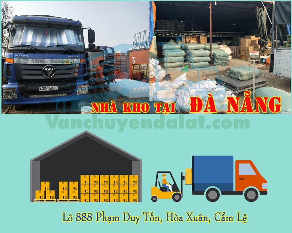 Nhà kho, nhà xe chuyển hàng đi Đà Lạt tại Đà Nẵng