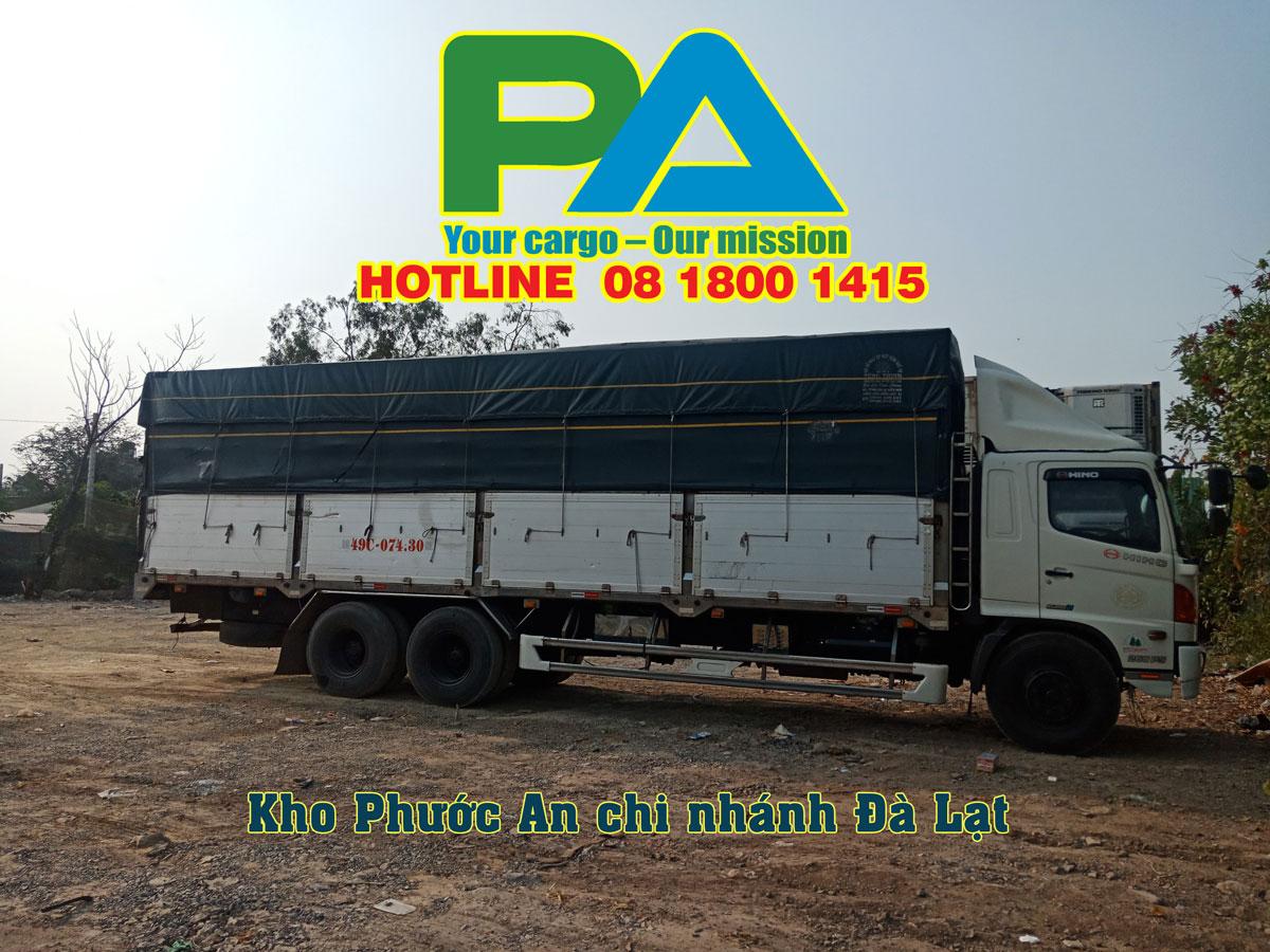 Phương tiện vận chuyển hàng hóa đi Đà Lạt