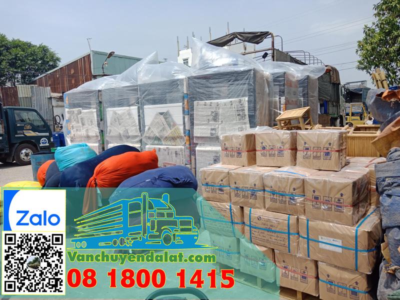 Các loại hàng hóa thường được vận chuyển đi đà lạt