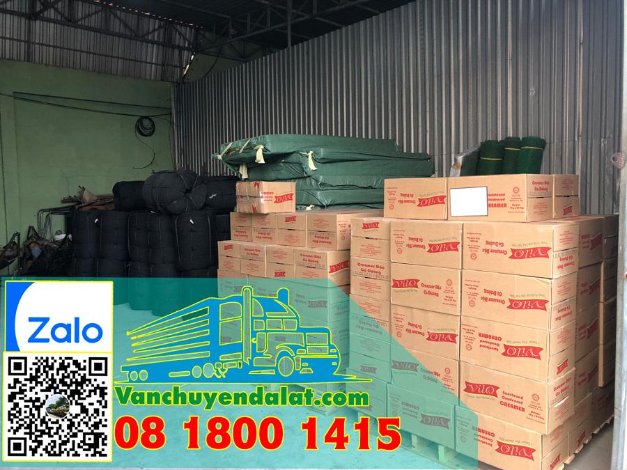 Hàng hóa vận chuyển từ Đà Lạt đi Hà Nội