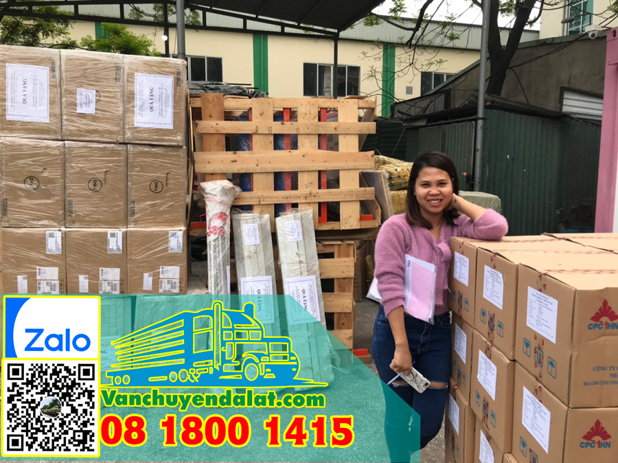 Vận chuyển hàng hóa từ Hà Nội đi Đà Lạt
