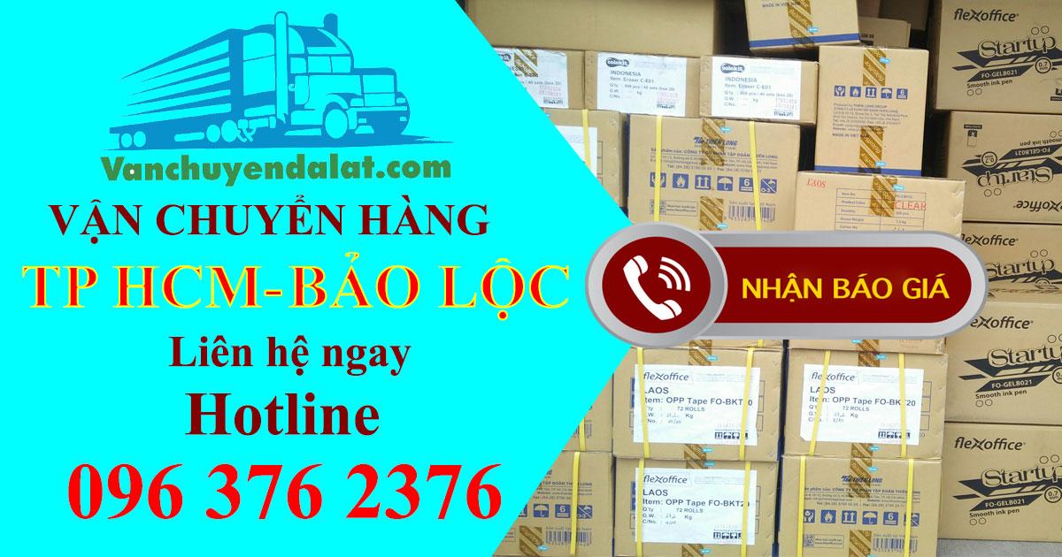 Chành xe chuyển hàng đi Bảo Lộc